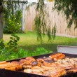 Stock Photo: Backyard Barbeque