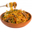 Noodle Beef Stirfry — Stock Photo