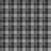 Black Flannel Check Seamless Background — Stock Photo