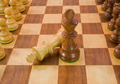 Chess Adversaries — Stock Photo