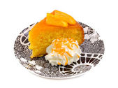 Moist Orange Cake — Stock Photo