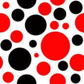Polka Dot Seamless Background — Stock Photo