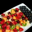 Fresh Fruit Platter — Stock Photo #2479004