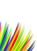 Vibrant Fibers with Copy Space — Stock Photo