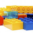 Plastic Blocks - Stock Photo