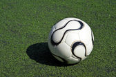 Football or soccer ball — Stock Photo