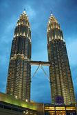 The Petronus Twin Towers — Stock Photo