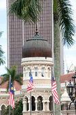 Merdeka square in Kuala Lumpur — Stock Photo
