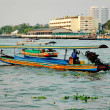 Bangkok boats — Stock Photo