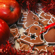 Royalty-Free Stock Photo: Apples and Gingerbread 2