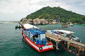 Pier Koh Nang Yuan 1 — Stock Photo