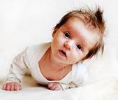 Baby saliva — Stock Photo