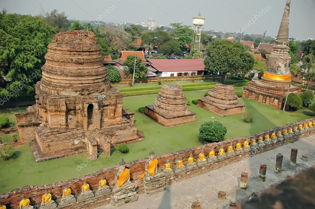 Ayutthaya near Bangkok, Thailand, Asia — Stock Photo #2364697