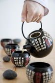 Chinese tea service — Stock Photo