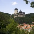 Karlstejn castle — Stock Photo #2235428