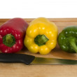 colorful peppers — Stock Photo