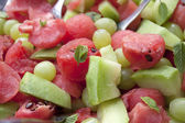 Water melon salad — Stock Photo