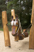 Horse swing — Stock Photo