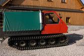Groomer transporter — Stock Photo