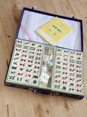 Mahjong desk game — Stock Photo