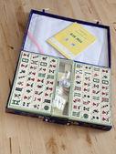 Mahjong desk game — Stock Photo