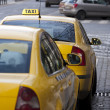 Taxi cabs — Stock Photo