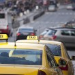 Taxi cabs - Stock Photo