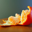Ripe tangerine — Stock Photo