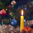 Christmas candle — Stock Photo #2364479