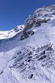 Alps winter mountains — Stock Photo