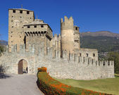 Medieval castle in Italy — Stock Photo