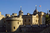 Tower castle in London — Stock Photo