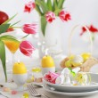 Easter table setting — Stock Photo #2227835