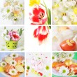 Easter collage - Stockfoto