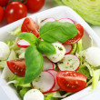 vegetable salad — Stock Photo