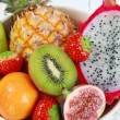 Stock Photo: Fresh fruits