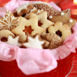 Detail of Christmas cookies — Stock Photo #2228855