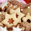 Royalty-Free Stock Photo: Detail of Christmas cookies