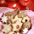Detail of Christmas cookies — Stock Photo #2228885