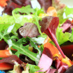 Mixed vegetable salad — Stock Photo