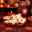 Delicious Christmas cookies — Stock Photo #2228934