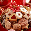 Delicious Christmas cookies — Stock Photo #2229148