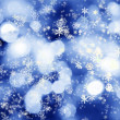 Royalty-Free Stock Photo: Winter lights background