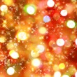 Christmas lights background - 图库照片