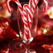 Christmas candy canes — Stock Photo #2229275