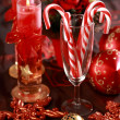 Christmas candy canes — Foto Stock