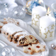 Christmas cake and cookies - Stock Photo