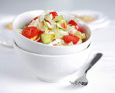 Healthy cabbage salat - fatburner — Stock Photo