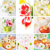 Easter collage — Stockfoto