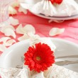 Romantic table setting — ストック写真